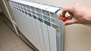 Не забываем закрыть радиаторы отопления!!